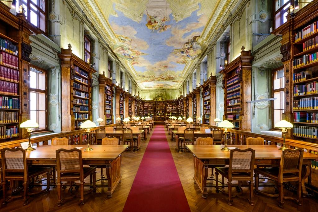 Augustinerlesesaal Nationalbibliothek