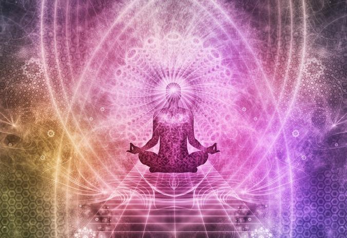 Auch der Meditation wird ein großes Kapitel gewidmet.